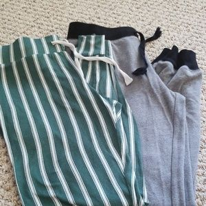 2 pairs comfy pants
